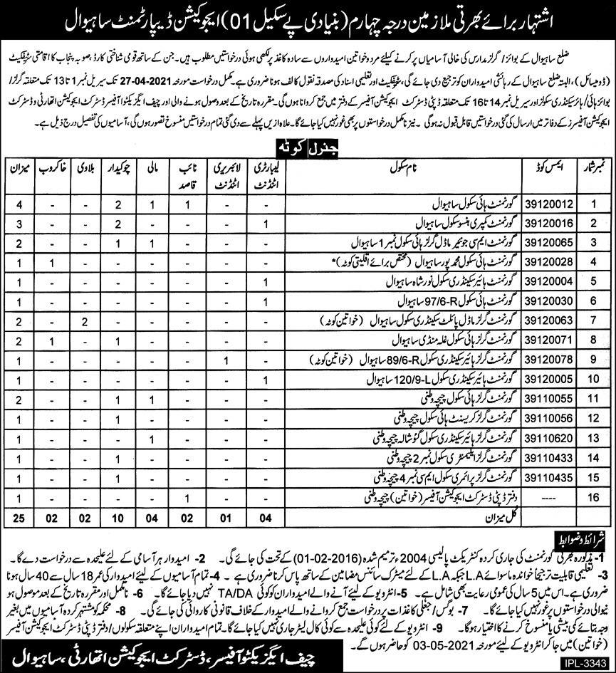 District Education Authority - Sahiwal